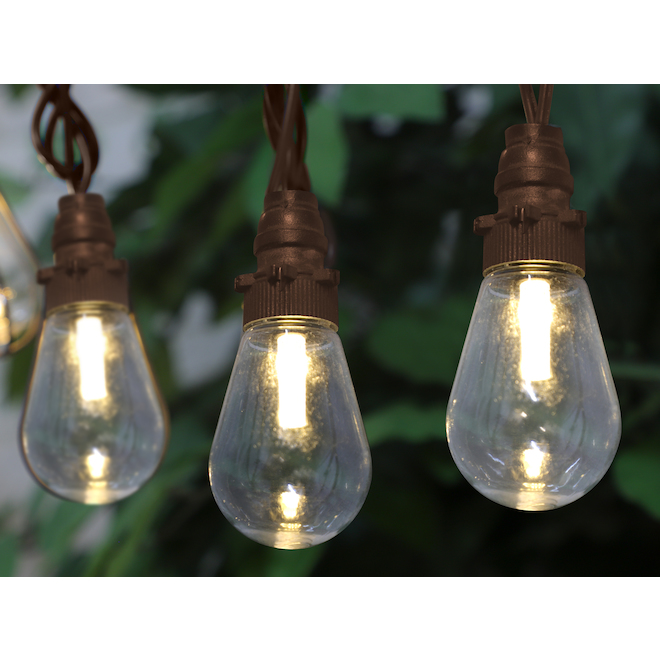 Danson Decor String Light - 15 Mini LED Lights - Edison - 15-ft - Warm White