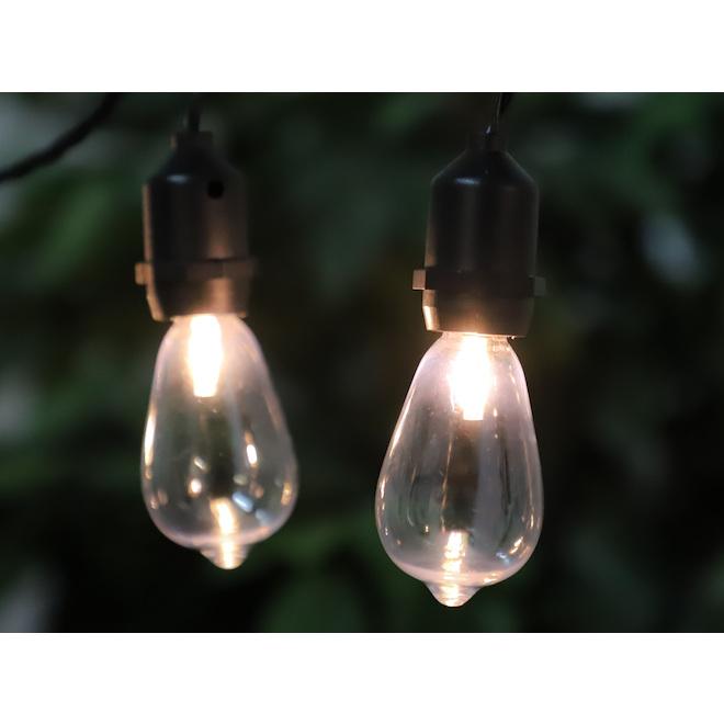 Danson Decor String Light - 15 LED Lights - Edison - 15-ft - Warm White