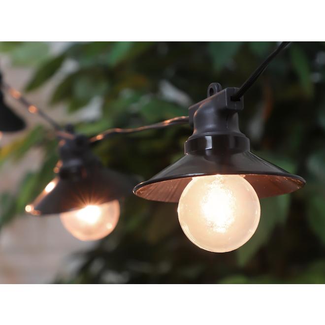 Danson Decor String Lights - 10 LED Lights - G50 - Warm White
