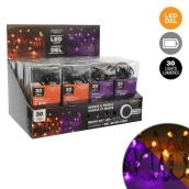 Holiday Living Assorted 30-Count 10-ft Microdot LED Battery-Operated Halloween String Light