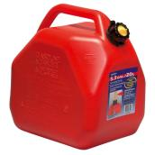 Scepter Gasoline Can - Plastic - Red - 20 Litres