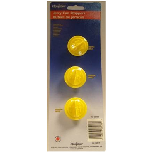 Scepter Gas Can Stoppers - 3-Pack