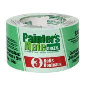 Rubans-cache pour peinture, 24 mm, vert, 3/pqt