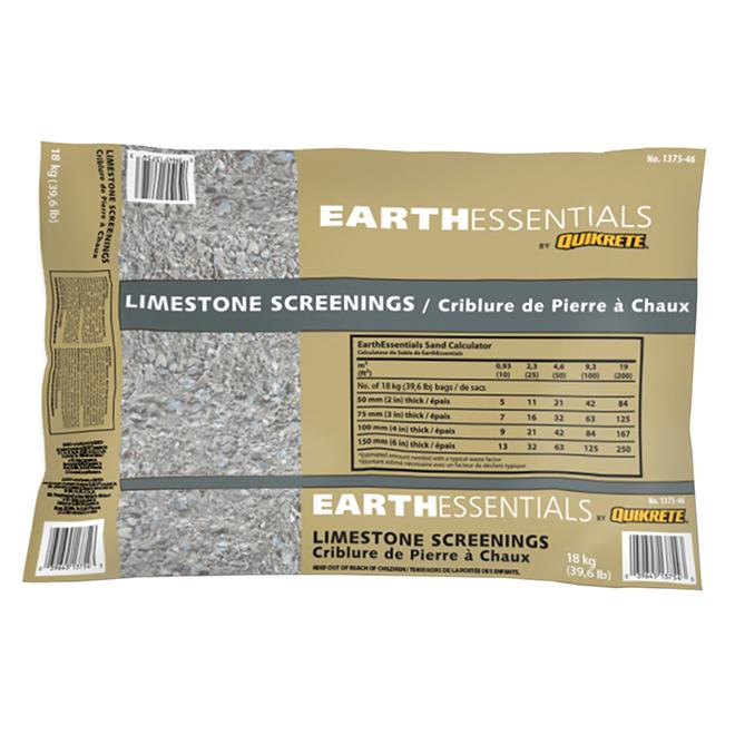 Earthessential Limestone Screenings - 18 Kg - Beige