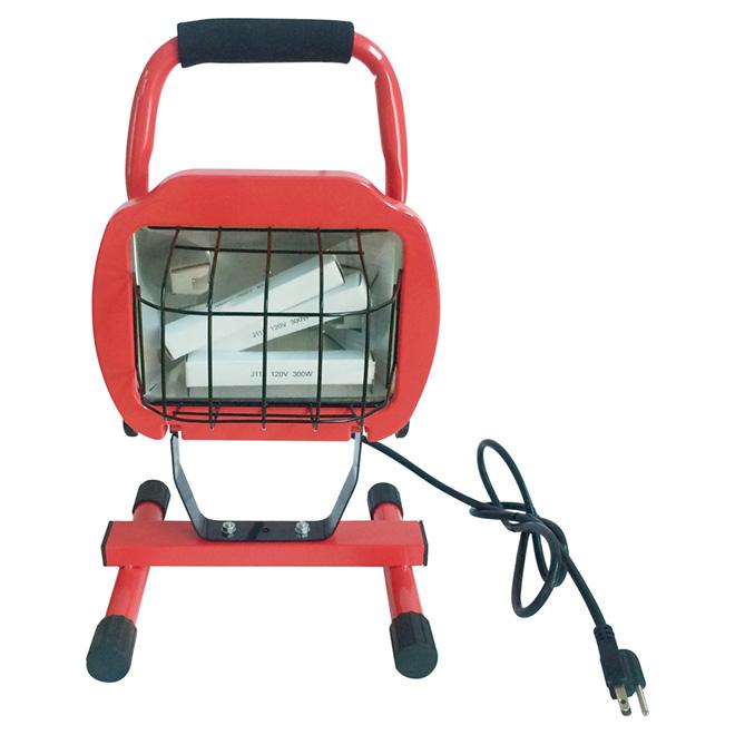 "Halogen Portable Work Lamp - 600 W - 17 3/8"""
