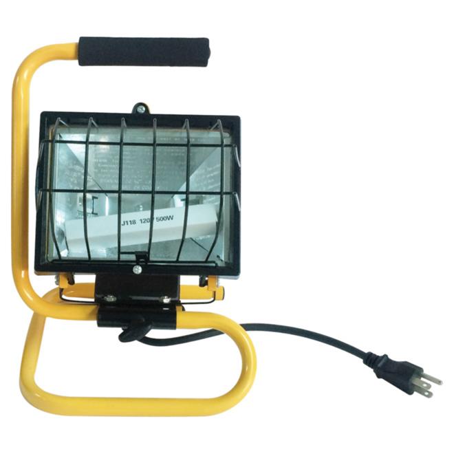Halogen Portable Work Lamp - 500 W - 13 3/8""