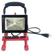 Lampe de travail portative DEL, 15 W, 12 po