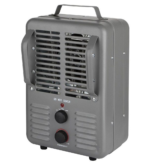 Konwin Portable Heater - 3 Settings - 1500 W - Dark Grey