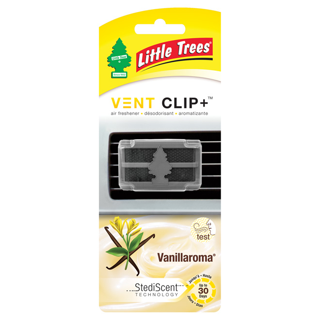 Désodorisant pour automobile, Vent Clip +, Vanillaroma
