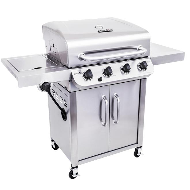 Barbecue au propane, 4 brûleurs, 40 000 BTU, 600 po²
