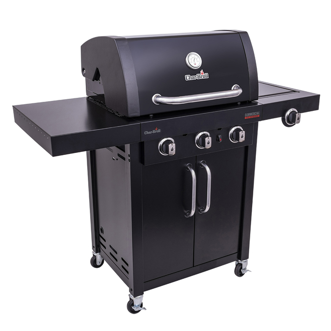 Char Broil Gas Grill With Tru Infrared Tm 420 Sq In Steel 466243219 Rona