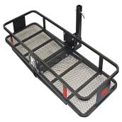 "Hitch-Mounted Cargo Carrier - 60"" x 20"" x 6"""