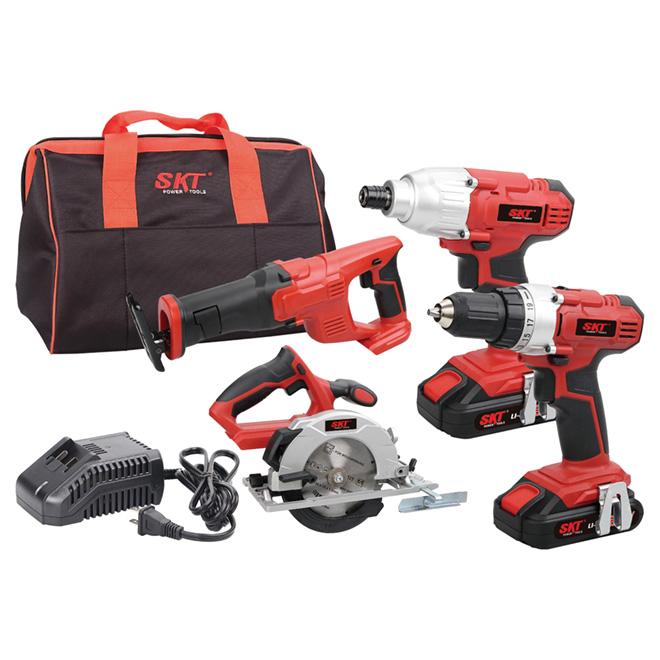 Drill, Driver, Reciprocating and Circular Saws - 20 V