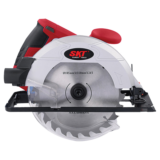 Electric Circular Saw - 12A - 7 1/4""
