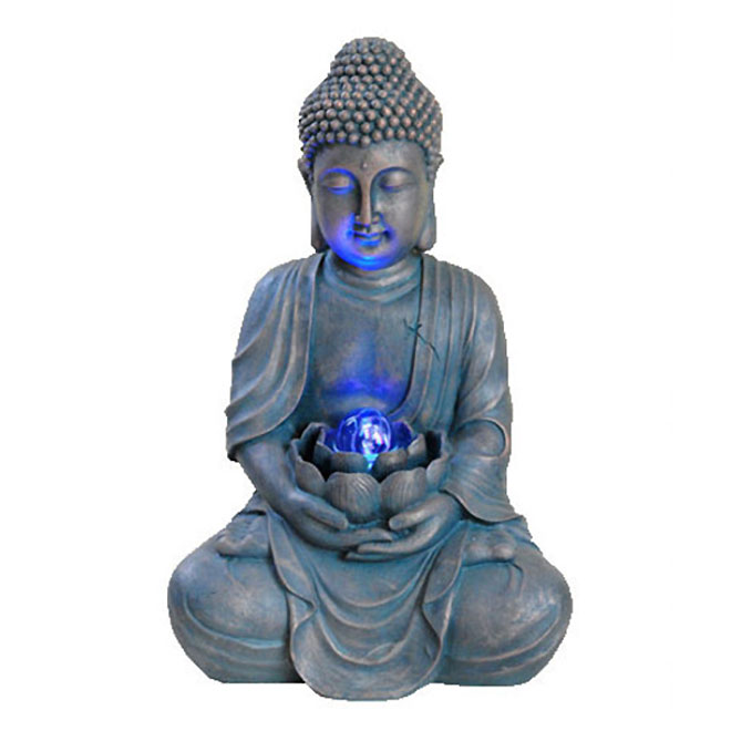 Fontaine « Bouddha » en pierre