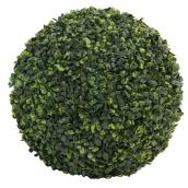 "Artificial Topiary Plant - Ball - 15"" - PVC - Green"