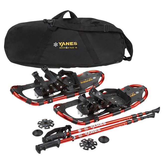 """""""Mountain Pass"""" Snowshoe Kit- 22""""- 125 lb Capacity"""