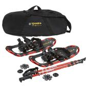 """Mountain Pass"" Snowshoe Kit- 22""- 125 lb Capacity"
