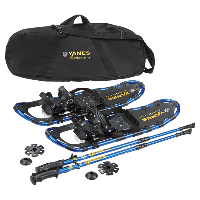 """Mountain Pass"" Snowshoe Kit- 27""- 175 lb Capacity"