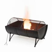 Infinity 23-in x 35.5-in x 20.9-in Outdoor Fire Pit