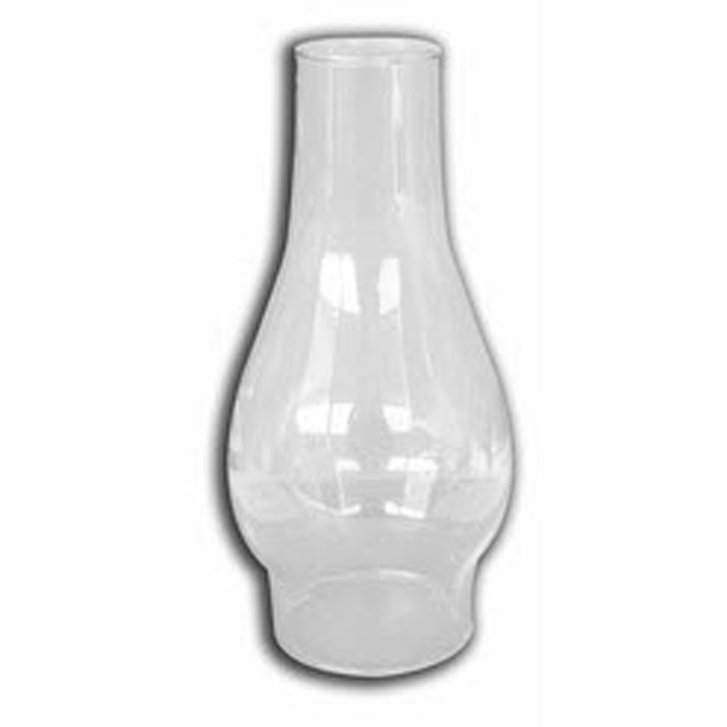 Oil Lamp Chimney - Glass - Clear