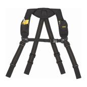 Dewalt Padded Suspenders - Black Fabric