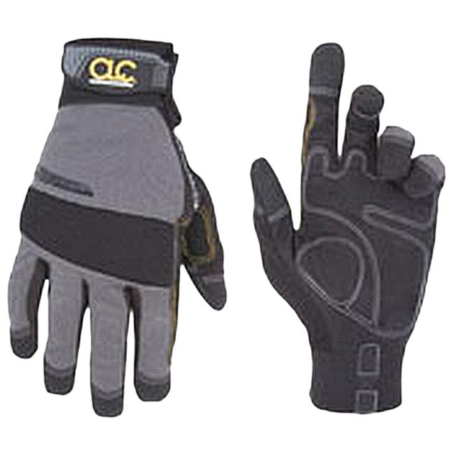 Men's HandyMan Syntrex Work Gloves - Black/Grey- XL