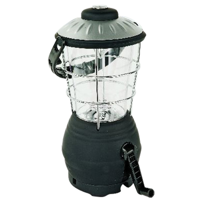 """N-49"" LED Lantern - Crank-Up - Compass - 4 modes"