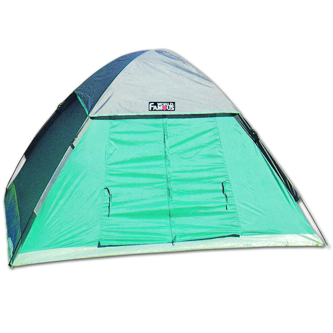 Hermit Tent - 2 Person - Nylon/Poly - 5' x 7' x 48""