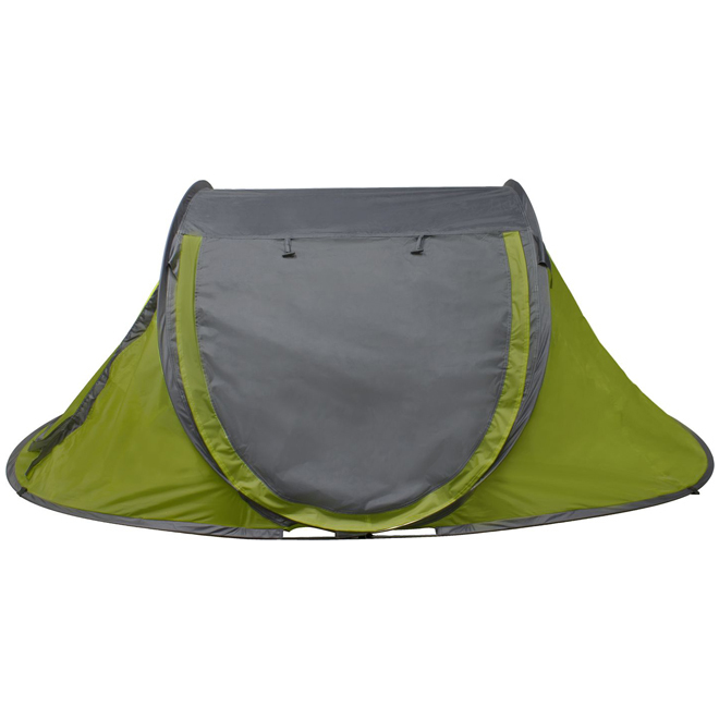 "Pop-Up Tent - 3 Person - Polyester/PE - 94"" x 71"" x 37"""
