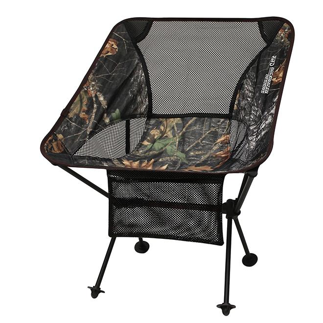 "Folding Chair - 16"" x 22"" x 25 1/2"" - Black/Camo"