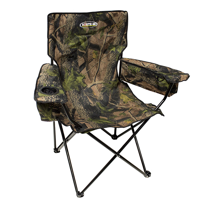 """Folding Chair - Cooler Arms - 21"""" x 35"""" x 37 1/2"""""""