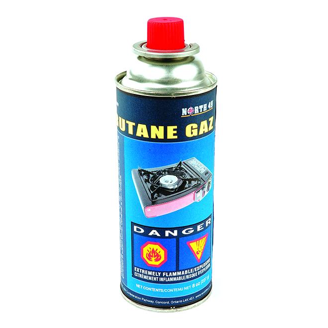 Butane Fuel Cartridge - 8 oz