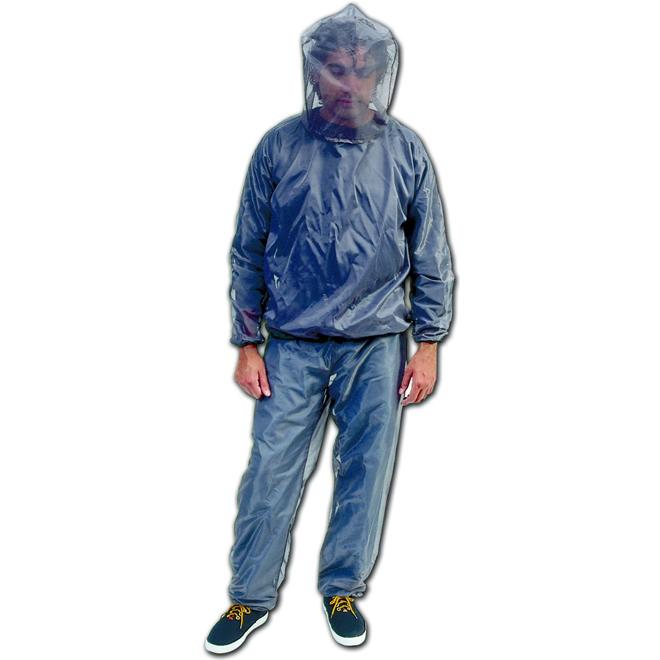 Veste antimoustiques en nylon pour adulte, à enfiler, TTG