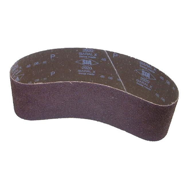 """Cloth Belt - Grit 120 - 3"""" x 24"""" - Aluminum Oxyde"""