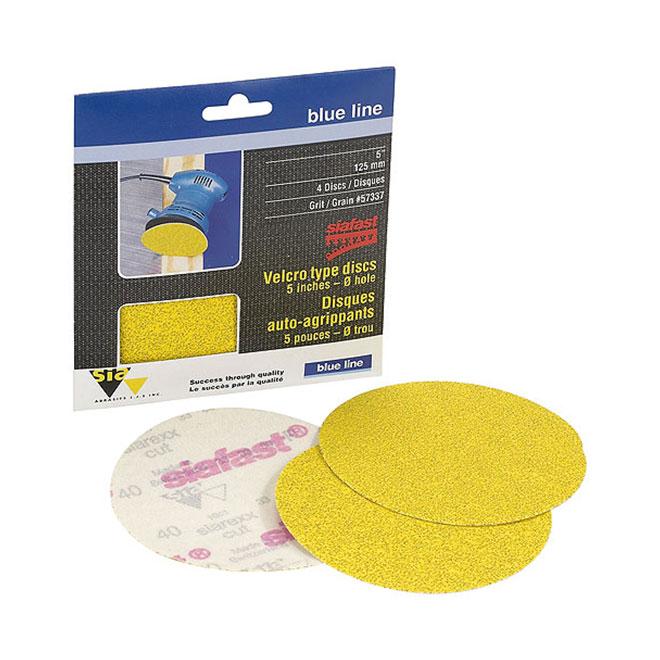 """5"""" Abrasive Disc - 60 Grit - 4-Pack"""
