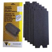 "Papiers abrasifs pour gypse, grain100, 43/16"" x 11"", 5/pqt"