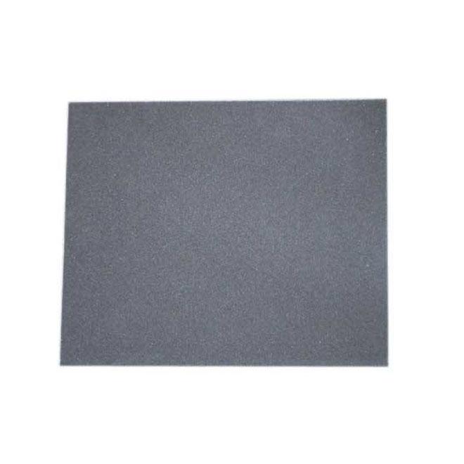 """Papier abrasif d'émeri, grain 80, 9"""" X 11"""""""