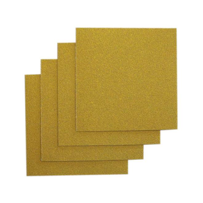 """Papier abrasif adhésif, carré 4,5"""", grain 120, 4/paquet"""