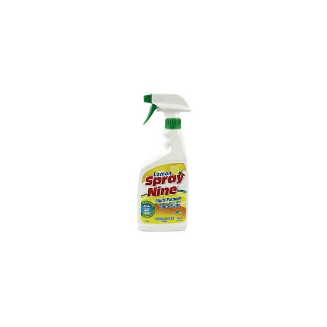 Nettoyant puissant désinfectant Spray Nine, 650 ml