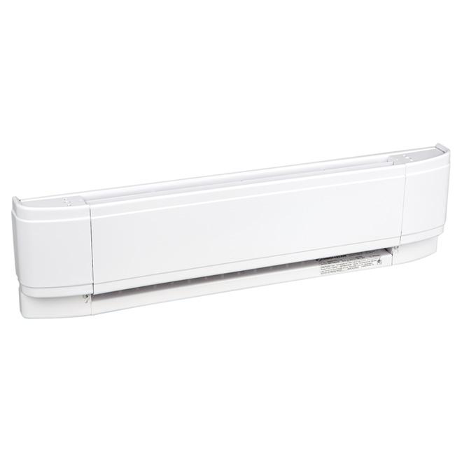 """Plinthe chauffante Eclipse, 750 W, 25"""", blanc"""