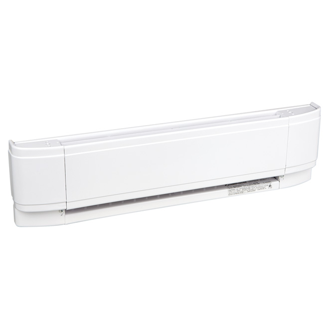 "Eclipse Baseboard Heater - 750 W - 25"" - White"