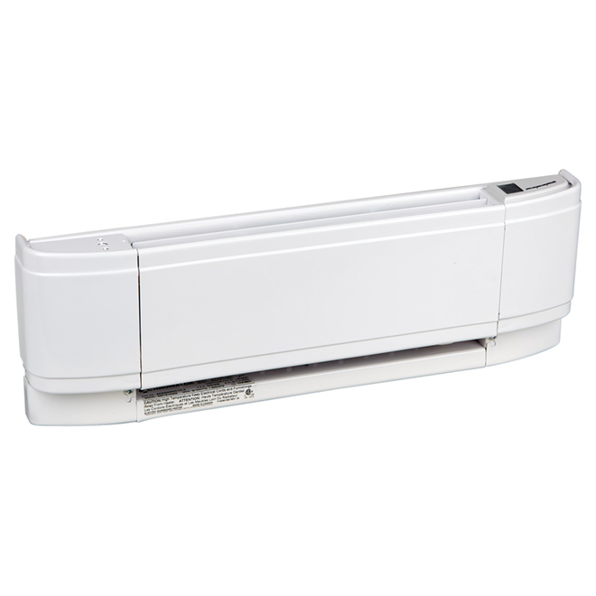 500-W Baseboard Heater with Built-in Thermostat