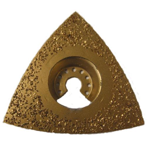 Rounded Triangular Carbide Rasp 24 Grit