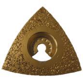 Râpe triangulaire arrondie au carbure à grain d'abrasif 24