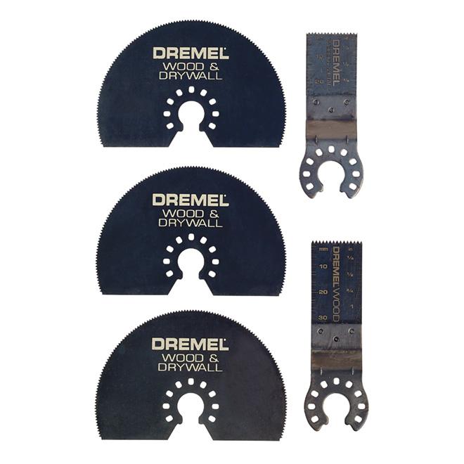 Paquet de 5 lames de coupe «Dremel»