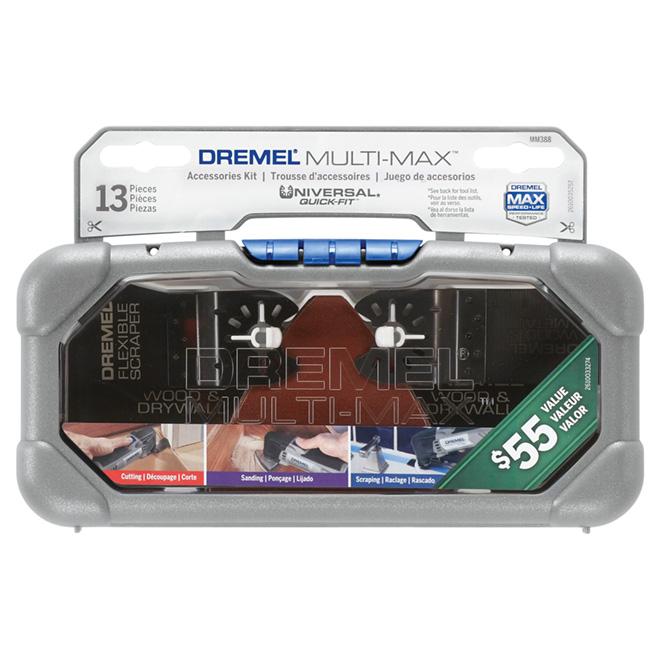 Accessoires pour outil oscillant « Multi-Max », 14 pièces