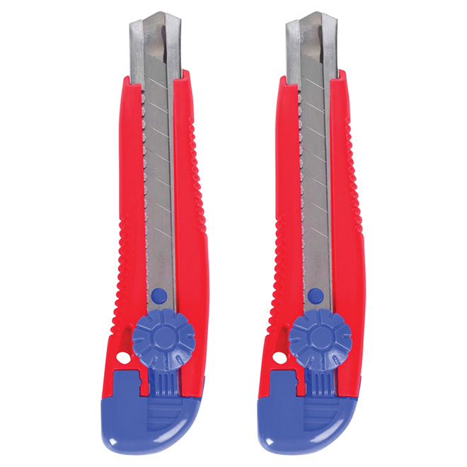 Ensemble de couteaux utilitaires, 1,8 cm, paquet de 2