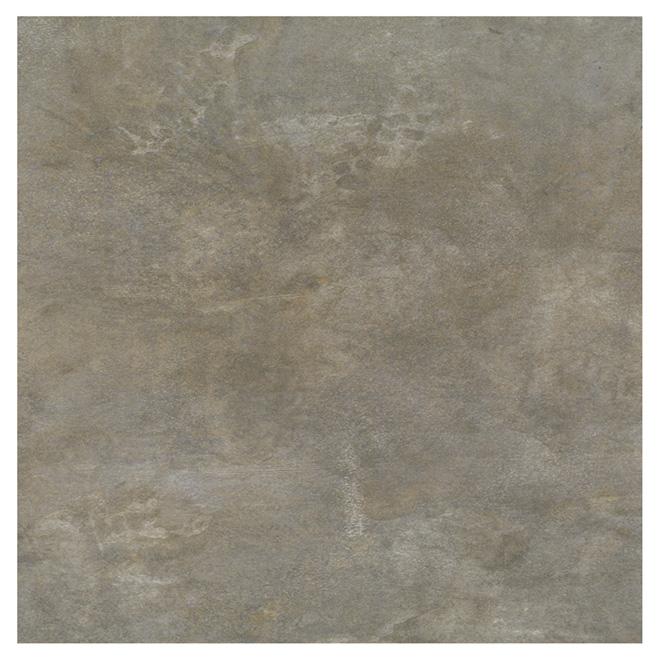 "Vinyl Flooring Tiles - 12"" x 24"" - Beige - Pack of 24"