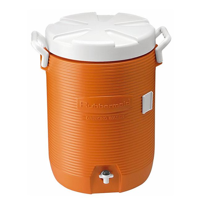 Refroidisseur d'eau, 5 gallons, orange